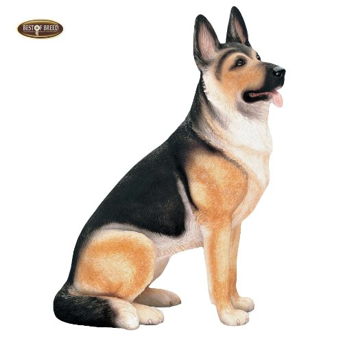 Best Of Breed by Naturecraft – German Shepherd Sable Seated Dog