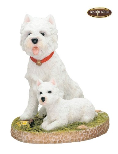 "Best Of Breed by Naturecraft – West Highland Terrier Dog – ""Mum & I"""