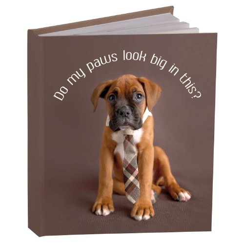 Pawz By Naturecraft 'Do My Paws Look Big in This' A6 Notebook