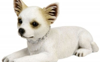 Pawz Chihuahua Puppy Laying Down Figure Ornament Gift New In Box