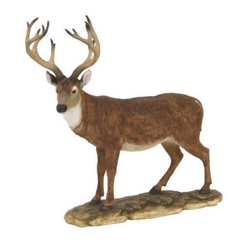 Naturecraft Realistic Animal Gift Ornament Stag Standing