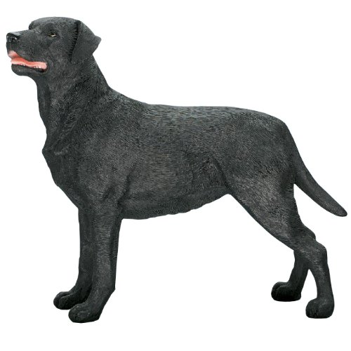 Best Of Breed by Naturecraft – Black Labrador Standing Dog Ornament