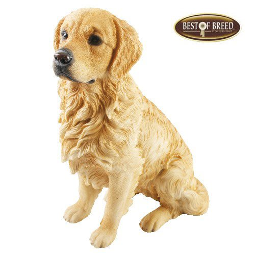 Best Of Breed by Naturecraft – Golden Retriever Dog – Large 28cm