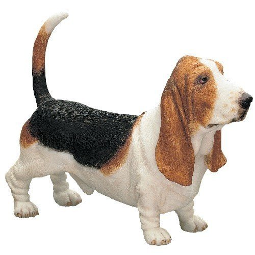 Best Of Breed by Naturecraft – Basset Hound Tri Colour Dog – Standing