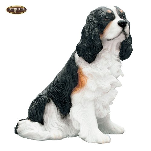 Best Of Breed by Naturecraft – Cavalier King Charles Tri Seated Dog