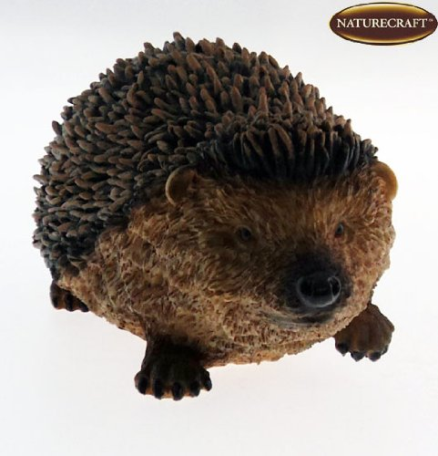 Naturecraft Realistic 8″ Hedgehog Ornament / Figurine