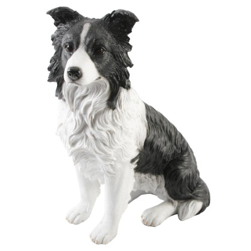 LARGE Best of Breed Hand Painted Border Collie Sheepdog Pet Dog Ornament Gift
