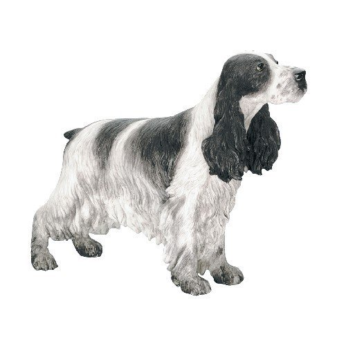 Best of Breed Hand Painted Cocker Spaniel Blue Roan Pet Dog Ornament Gift Statue