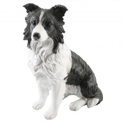 Best of Breed Large Border Collie Figurine Brand New