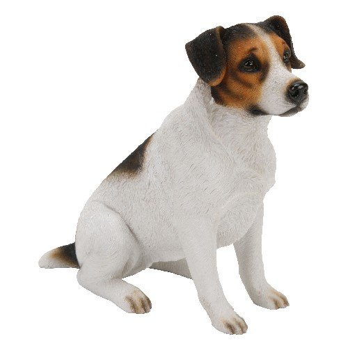 Beautiful, Best of Breed, Jack Russell resin figure. An ideal gift for the dog lover (NC5295).