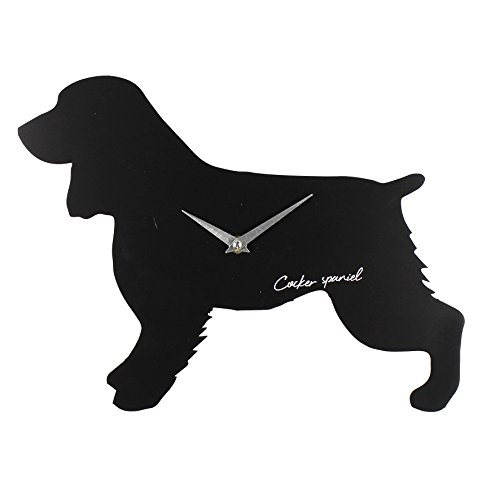 Best Of Breed Dog Cut Out Silhouette Quartz Wall Clock Cocker Spaniel