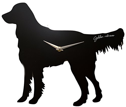 Best Of Breed Dog Cut Out Silhouette Quartz Wall Clock Golden Retriever