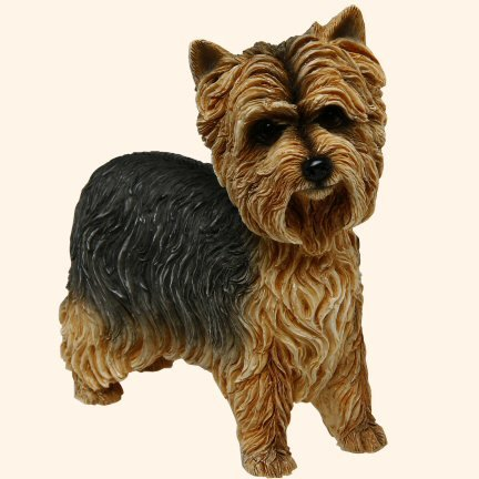 Best of Breed Dog Figurine – Yorkshire Terrier (Yorkie) – Standing