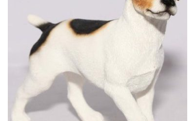 Standing Jack Russell Terrier Dog Ornament – Best Breed Range Of Collectable Dogs By Leonardo